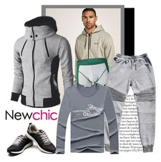 """Newchic 127. (Men 12.)"" by carola-corana ❤ liked on Polyvore featuring men's fashion and menswear"