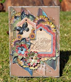 Strawbs Patch: Birthday Card - Graphic 45