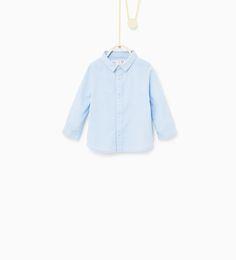 Herringbone shirt from Zara