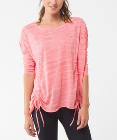 Take a look at this Hot Coral Dream Sweater on zulily today!