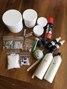 DIY SLIME KIT Non Toxic Kids Friendly No Borax Powder