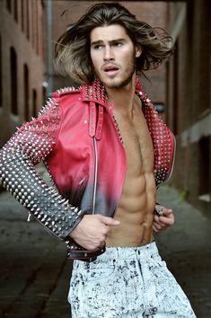 THE FASHIONISTO: EXCLUSIVE: JUSTIN LACKO IN 'A RAGS TO ROCKSTAR STORY' #oscarcalvo #mensfashion #menswear #mensstyle #candyperfumeboy #fashiondesigner #avantgarde #fashion #style #leatherjacket