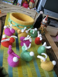 Ravelry: virkkaaja's easter bunny´s Easter Bunny, Ravelry, Projects, Log Projects, Blue Prints