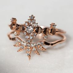 Check this pear diamond engagement ring set from Camellia Jewelry. It features a realistic twig white gold ring. An impressive pear cut diamond completes the engagement ring with just a whisper of refinement. Ruby Wedding Rings, Classic Engagement Rings, Platinum Engagement Rings, Witch Rings, Diamond Anniversary Rings, Morganite Engagement, Wedding Engagement, Forever, Unique Rings