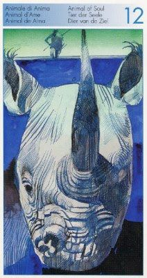 Knight of Cups (Soul) - Tarot of the Origins by Sergio Toppi