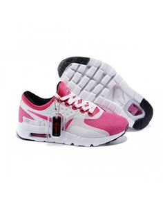 check out a0413 887e4 Nike Air Max Zero Qs Running Shoes White Pink UK