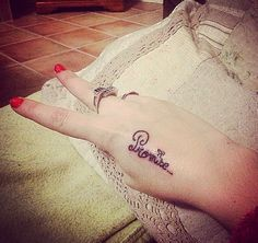 Tatoo #promise