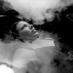 10 x 10 - Black & White - Film - Conceptual - Water - Woman - Fog - Dream - Fine Art - Print - Medium Format Photograph via Etsy Film Photography, Editorial Photography, Sheer Beauty, Female Photographers, The Dreamers, Fine Art Prints, Black And White, Portrait, Artwork