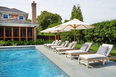 Relax by the pool and take in some sun while in Southampton.