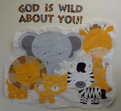 pinterest jungle safari preschool ideas | Jungle Theme Preschool Bulletin Board Idea