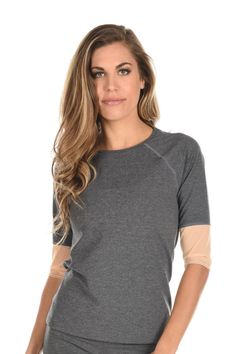 This new 3/4 sleep Rally top from @toniclifestyleapparel is great for those early morning runs or dress it up for an evening on the patio. The sheer sleeves make this top very desirable. https://www.elevateactivewear.ca/webstore/rally-long-sleeve/dp/20679