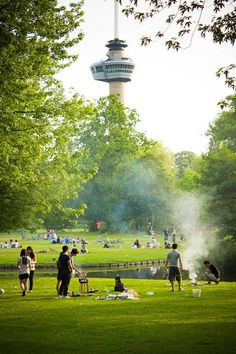Het Park, Euromast, Rotterdam, Zuid-Holland. Rotterdam, Paradise On Earth, New City, City Style, Countries Of The World, Oslo, Where To Go, Netherlands, Dutch