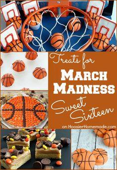 March Madness Sweet Treats | Recipes on HoosierHomemade.com