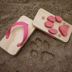 Des sandales à empreintes - Marie Claire Idées