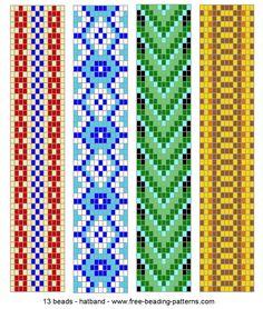 13 wide hatband