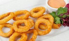 Cibuľové krúžky Onion Rings, Appetizers, Snacks, Cooking, Ethnic Recipes, Kitchen, Appetizer, Entrees, Onion Strings