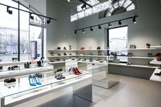 Porta 9 Shoe Concept Store by Tamara Muradova, Moscow – Russia » Retail Design Blog