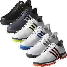 New 2016 #adidas golf #tour360 boost performance mens leather golf #shoes, View more on the LINK: http://www.zeppy.io/product/gb/2/401102297820/