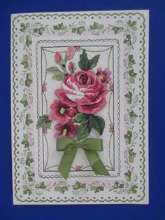 Anna Griffin--I love the feminine card bases and embellishments!!!