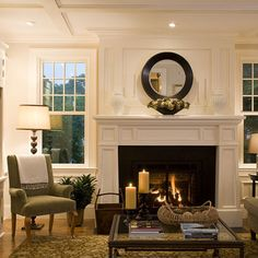Living Room Wainscoting Design, Pictures, Remodel, Decor and Ideas - page 29