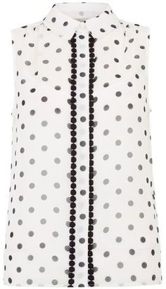 0f5c1c5f42 In a pretty polka-dot pattern and with contrasting circle trim