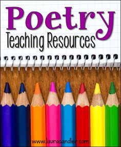 Laura Candler's Poetry Teaching Resources page includes a free webinar, links to poetry freebies, and other resources for teaching poetry in the upper elementary classroom. Teaching Poetry, Writing Poetry, Teaching Writing, Teaching Tools, Teacher Resources, Teaching Activities, Teaching Ideas, Writing Lab, Poetry Activities