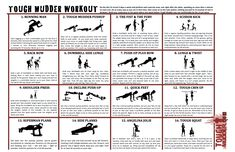 Tough Mudder Workout: http://toughmudder.com/training-prep/
