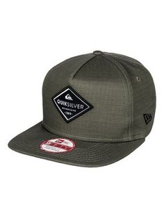 new styles fe3ca d334b quiksilver, Stakes Snapback Hat, DUSTY OLIVE (gpb0) Chapéus Snapback,  Chapéus Para