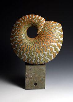 Peter Beard from Daily Art Muse Glass Ceramic, Ceramic Clay, Ceramic Pottery, Pottery Art, Peter Beard, Pottery Sculpture, Sculpture Clay, Modern Ceramics, Contemporary Ceramics