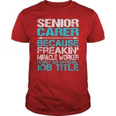 AWESOME TEE FOR SENIOR CARER T-SHIRTS, HOODIES, SWEATSHIRT (22.99$ ==► Shopping Now)