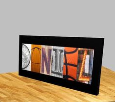 Are you planning a basketball themed party for your childs birthday. This would make a great center piece, and they could hang this in their room after the party.  This unframed letter name art basketball print would be a great gift for the basketball fan in your life. This print makes a great unique gift, for your basketball player.  Your child will cherish this gift for years to come whether its a gift for the end of season, or your childs birthday or for that special basketball player in…
