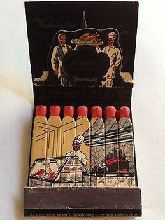 #Feature #Matchbook Harvey's Restaurant Washington DC. To order your business' own branded #matchbooks go to: www.GetMatches.com or call 800.605.7331 Today!
