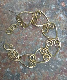 Brass Hearts. Check out her new website.  www.coppermaidendesigns.com