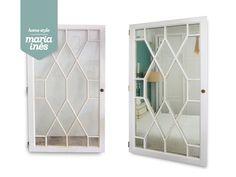 Mais uma porta transformada em espelho - Reciclagem para projeto.