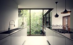 Innie & Outie: Practicing Rudiments in China Qingpu, Shanghai, China, 2012 / William O'Brien Jr Minimalist House Design, Minimalist Room, Period Living, Tower Design, Pinterest Home, Traditional House, Building A House, Architecture Design, New Homes