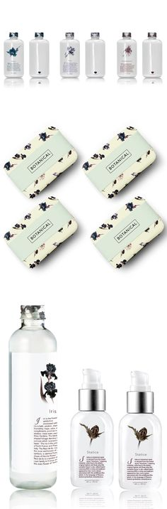B O T A N I C A L by Diana Kyung-a Na, via Behance - Pretty Packaging