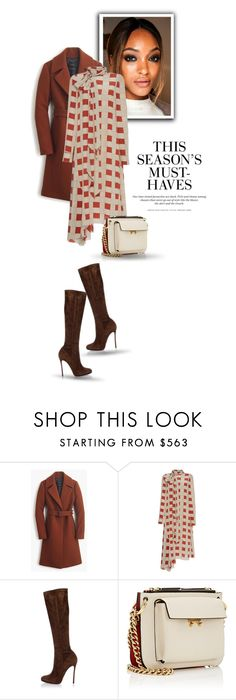 """02.02.17"" by bliznec ❤ liked on Polyvore featuring Diane Von Furstenberg, J.Crew, Marni, Dsquared2 and H&M"