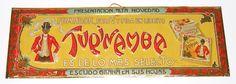 Tupinamba Zigarettenpapier Blechschild