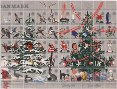 Danish Christmas Seals 1961 -- see this site for all the designs, as well as Christmas stamps http://arslonga.dk/Danish_Christmas_Seals.htm#