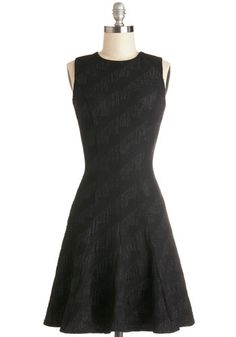 """Lucky Lady Dress in Black, #ModCloth I need a new """"little black dress"""" I think this would be perfect!"""