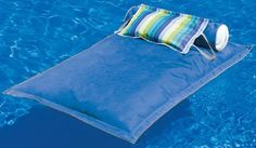 Pillowtop Pool Float - Pool Lounging -  Outdoor Play -  Outdoor | HomeDecorators.com