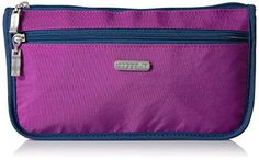 Baggallini Large Wedge Case MagentaPacific * Read more reviews of the product by visiting the link on the image.