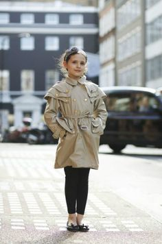 Caterina photographed in London by The Sartorialist for Art of the Trench