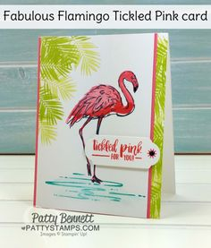 Fabulous Flamingo card inspired by Vans | Patty's Stamping Spot | Bloglovin'