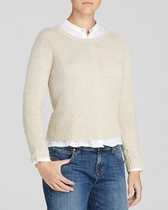 Eileen Fisher Textured Pullover