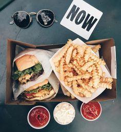 Burgers & fries everyday