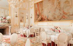 The salons at the Ritz Paris are available for all guests seeking an exceptional place to entertain, in the heart of Place Vendôme. With capacities ranging from 10 to 500 guests, these salons offer refined décor and Haute Cuisine by our Executive Chef Nicolas Sale as well as our teams' remarkable savoir-faire so that any event you host will reflect your personal style and tastes.