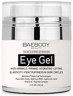 Baebody Eye Cream for Dark Circles, Puffiness, Wrinkles and Bags - The Most Effective Anti Aging Eye Gel for Under and Around Eyes - 1.7 fl oz