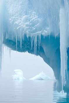 Iceberg (Antarctica) by Justine Carson.