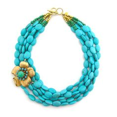 Necklaces: Some Kind of Fun In love with the chunky and creative jewelry from Elva Fields.